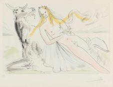 Salvador Dali, r.u.handsig.