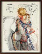Salvador Dali, l.u.handsig.