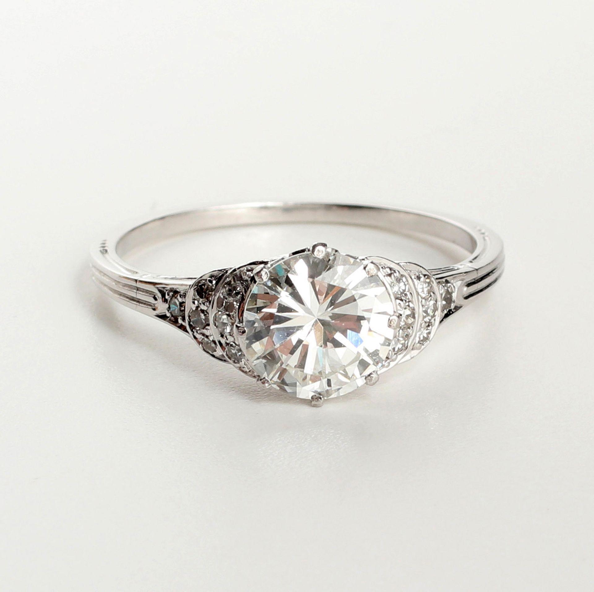 Ring, Platin