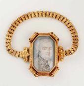 Armband, 18. Jh., 18 K GG