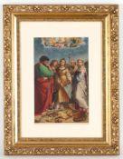 Eduard Kaiser nach Raphaell.u.sig., dat. 1885, Graz 1820 - 1895 Wien, 'Die heilige Cäc