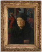 Toni Roth, l.u.sig.München 1899 - 1971 Greifenberg, 'Bäuerin in der Kirche', Öl/Ktn., <b