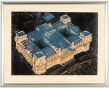 Christo und Jeanne-Claude, l.o.handsig.Gabrowo 1935 - 2020 New York bzw. Casablanca 1935 -
