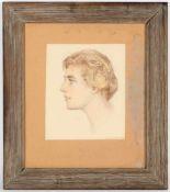 Carl Theodor von Blaasr.u.sig., dat. 1958, Kreuth 1886 - 1960 Salzburg, 'Portrait einer