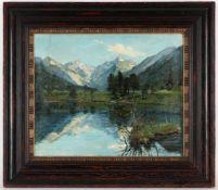 Joseph Correggio, r.u.sig., dat. (18)90Wolfratshausen 1810 - 1891 München, 'Der Kristallse