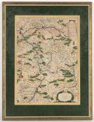 Vincenzo Maria Coronelli (1650-1718)'Del Palatinato et elettorato del Reno...', rechter Tei