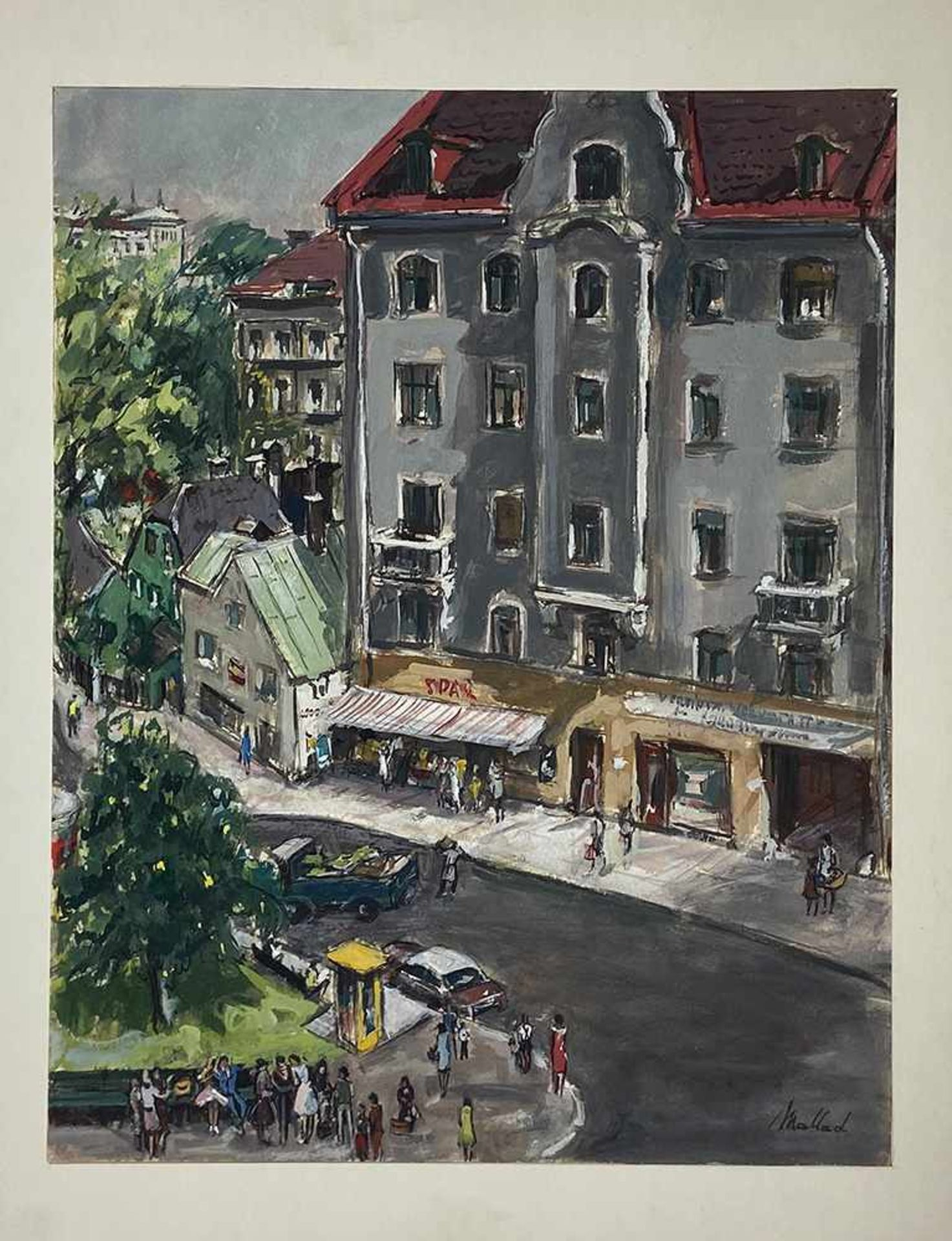 Bert Mallad 1913-1995