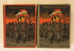 """""""Illustrierte Geschichte des Weltkrieges 1914/15"""". Erster und zweiter Band. Zahlreiche"""