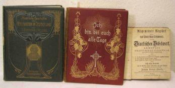 """Pank, Oskar: """"Ich bin bei euch alle Tage"""". Leipzig 1902. Dazu: """"Illustrierte Geschichte"""