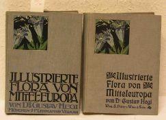 """""""Illustrierte Flora von Mitteleuropa"""". Band 1 und 3. Von Dr. Gustav Hegi und Dr. Gustav"""