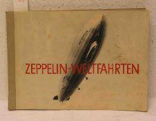 Zeppelin - Weltfahrten. Sammlung von 264 echten Bromsilber- Bildern. Vollständig.