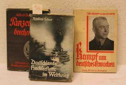 """Drittes Reich: Drei Bücher. Dabei: Scheer: """"Deutschlands Hochseeflotte im Weltkrieg"""""""