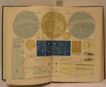 Atlas um 1920. Mit Himmelskunde.