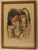 Jo (eigentlich Josef)Piper (Recklinghausen 1893 - 1971 Essen). Deutscher Maler und