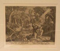 "Sadeler, Johannes der Ältere (Brüssel 1550 - um 1600 Venedig): ""Hl. Apollonius, derEinsiedler""."