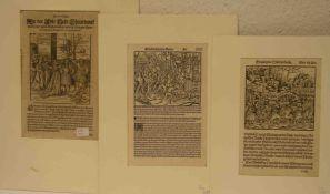 """""""Theurdanck"""" . Holzschnitt aus M. Pfintzing """"Theuerdanck"""", Nürnberg, J. Schoensperger,1517, sowie"""