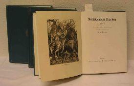 """III. Reich. Streicher Julius, drei Bände """"Reichstagung in Nürnberg"""": 1933, 1934, 1935."""