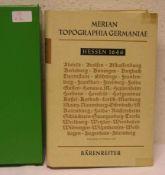 """Matthaeus Merian, Topographia Germaniae: """"Hessen"""". 188 Seiten, 3 Karten und 173 Ansichten,"""