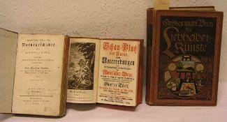 """""""Naturkunde"""". Drei Bücher. Dabei: """"Schauplatz der Natur"""". Fünfter Theil, 1764, """"Großes"""