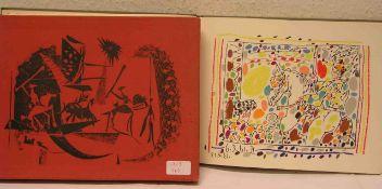 """A Los Toros"" mit Picasso Text von Jaime Sabartes. Verlag André Sauret, Monte-Carlo, 1961."