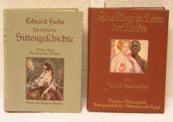 """""""Erotika"""": Friedenthal, Albert: """"Das Weib im Leben der Völker"""". 1. Band. Dazu: Fuchs,"""