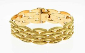 ArmbandArmband 750/- Gelbgold, Länge ca. 19,50 cm, 39,26g