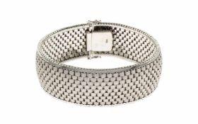 ArmbandArmband 585/- Weißgold, Länge ca. 19,00 cm, 64,33g