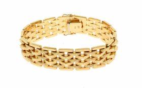 ArmbandArmband 750/- Gelbgold, Länge ca. 19,50 cm, 45,77g
