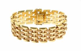 ArmbandArmband 585/- Gelbgold, Länge ca. 22,00cm, 54,19g