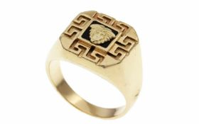 RingRing 585/- Gelbgold, Ringgröße ca. 65, 12,08g