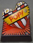 Love Pop Skulptur Herz