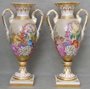 Paar Biedermeier-Vasen
