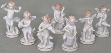 Sieben musizierende Engel