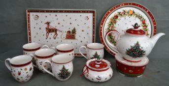 Weihnachts-Teeservice