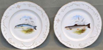 Zwei Fischteller