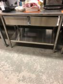 48 inch stainless steel table