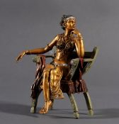 Bergmann Bronze, Österreich 1. Hälfte 20. Jahrhundert, Man. Greß