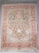 Teppich, Täbriz, China Seide
