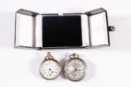 2 Herrentaschenuhren