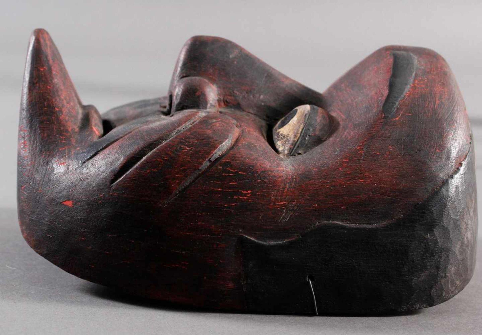 Indonesische Marionette und Maske aus der 1. Hälfte des 19. JahrhundertsGlieder und Kopf der - Bild 8 aus 11