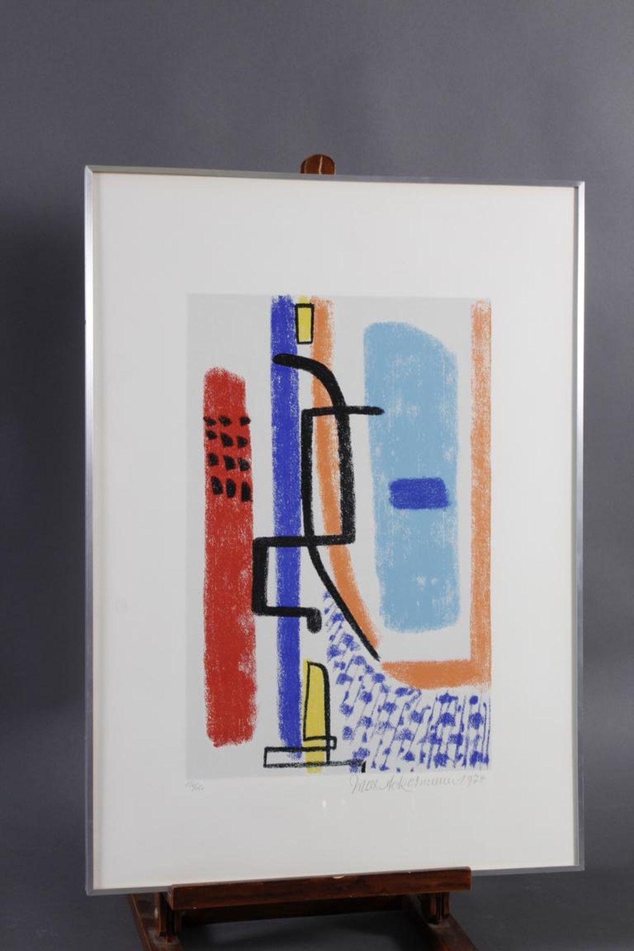 Max AckermannFarbserigraphie, Blatt 136/150, unten rechts mit Bleistift signiert und datiert 1974,