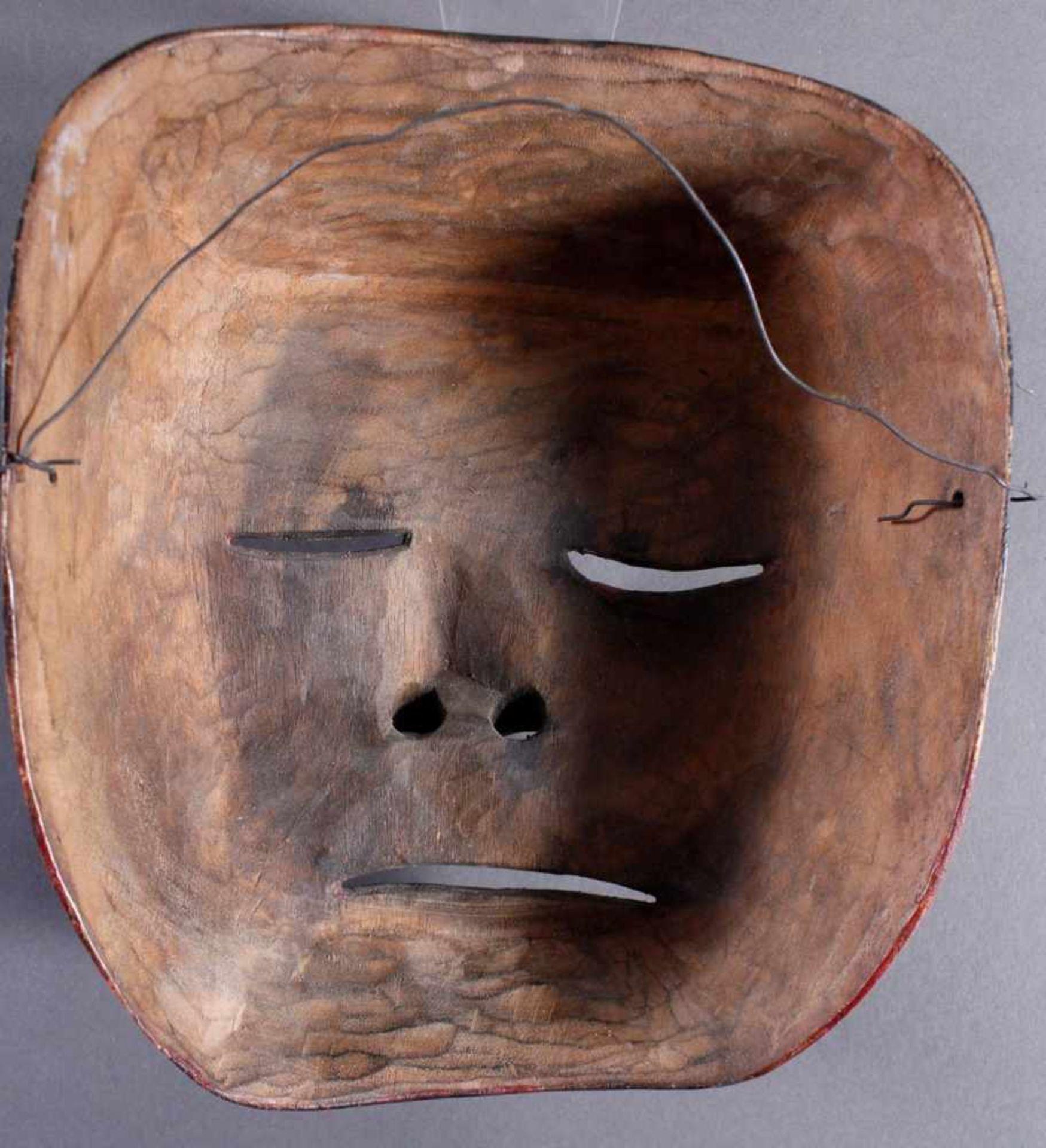 Indonesische Marionette und Maske aus der 1. Hälfte des 19. JahrhundertsGlieder und Kopf der - Bild 7 aus 11
