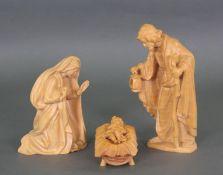 Anri Krippenfiguren mit dem Jesuskind