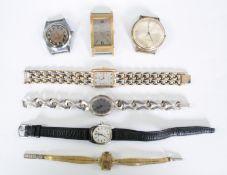 Konvolut Damen- und Herrenarmbanduhren