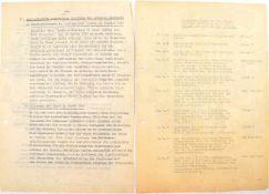 GESCHICHTE DER POLIZEI BERLINS, 120 Typoskript-Seiten, 1957-1959 u. um 1975, davon 55 S. zu