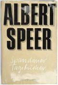 SPEER, ALBERT, (1905-1981), dt. Architekt u. 1942-1945 Reichsminister für Rüstung u.