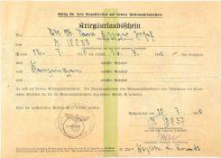 PRIEN, GÜNTHER, (1908-1941, im Nordatlantik verschollen), Korvettenkapitän u. Kdt. von U-47, EL
