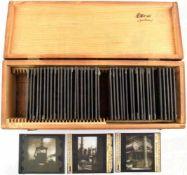 44 GLASDIAS MANUFAKTUR UND FABRIK, um 1910, Herstellung von Porzellan, Arbeiten im Steinkohlewerk,