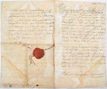 CARL, LANDGRAF ZU HESSEN-KASSEL, (1654-1730), Decret zur Vermehrung d. Leib-Rgts. zu Pferdt durch d.