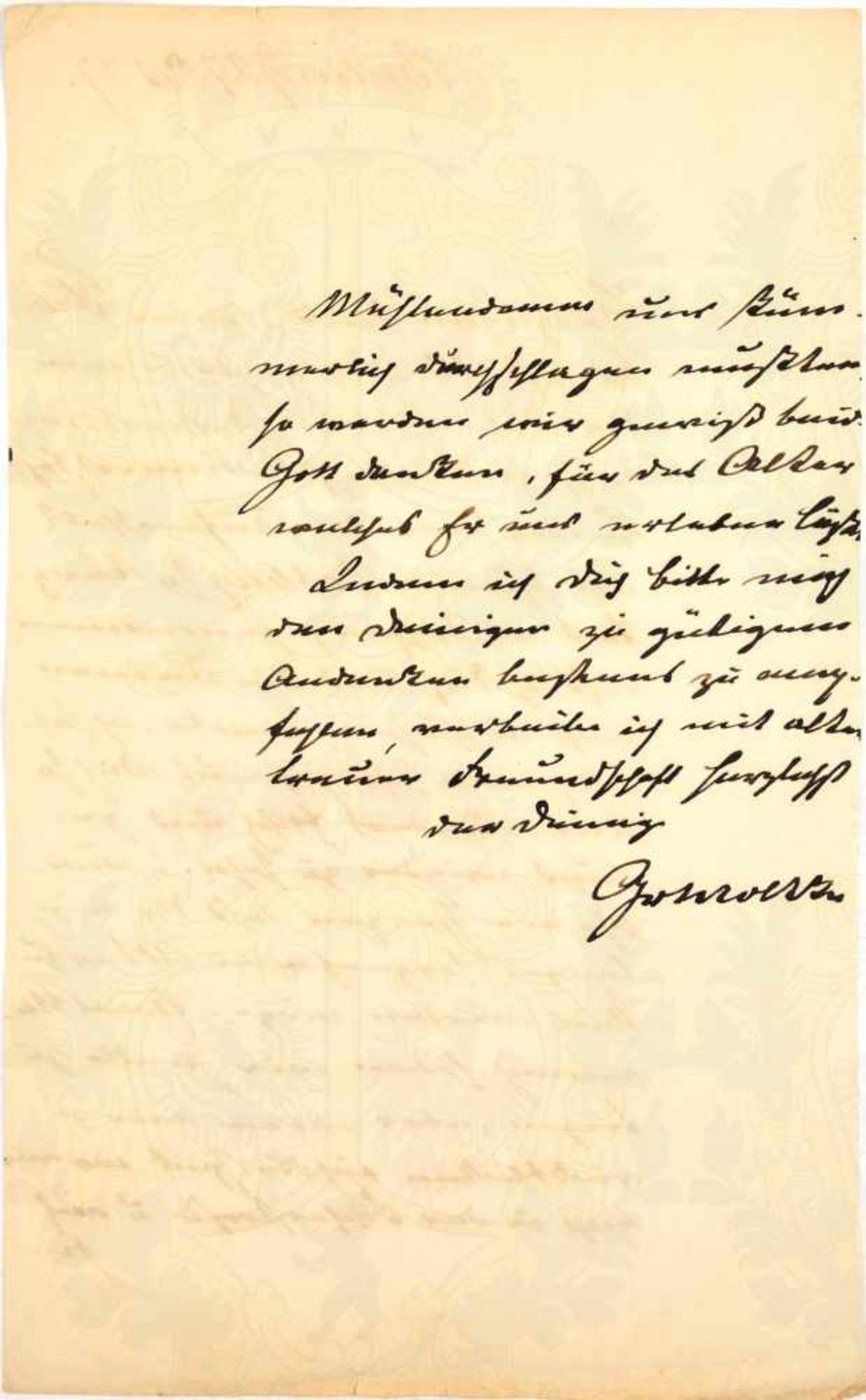 Los 4 - MOLTKE, Hellmuth Graf von, (1800-1891), Preußischer Generalfeldmarschall u. Stratege 1. Ranges,
